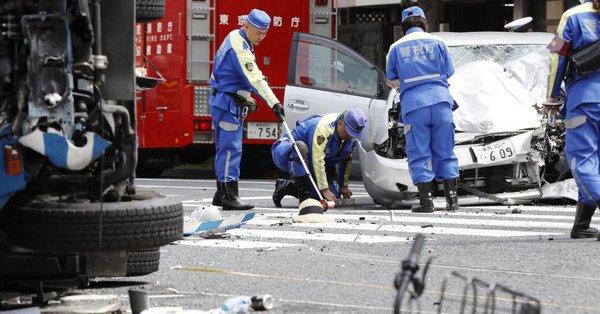 ゴミ収集車 事故
